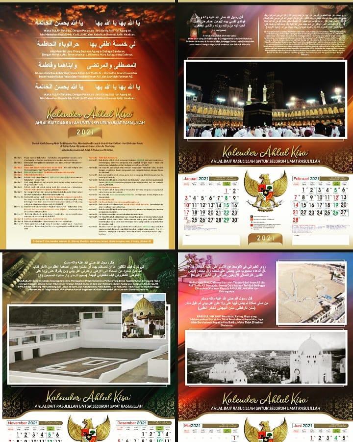 Bazar AB - Kalender AHLULKISA 2021 | Jual Beli Komunitas AB