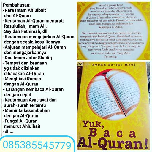 Bazar AB - Yuk Baca Al-Qur'an | Jual Beli Komunitas AB