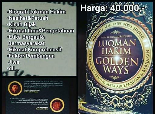 Bazar AB - Luqman Hakim - Golden Ways | Jual Beli Komunitas AB