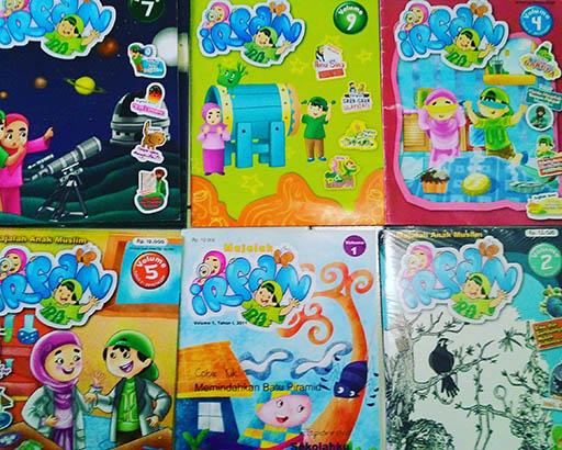 Bazar AB - Majalah Irfan jilid 1-13 | Jual Beli Komunitas AB