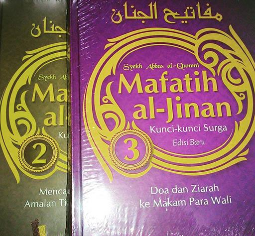 Bazar AB - Mafatih Al Jinan jilid 2 dan 3   Jual Beli Komunitas AB