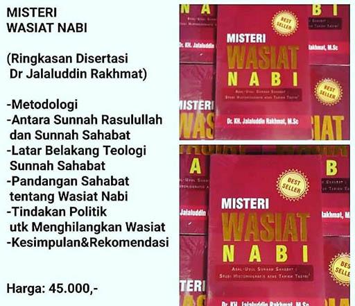 Bazar AB - Misteri Wasiat Nabi | Jual Beli Komunitas AB