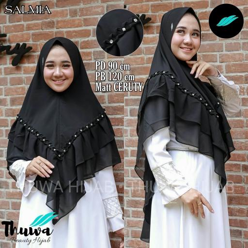 Bazar AB - Hijab - Thuwa Hijab - Salmia Mutiara - Kerudung - Ceruty - Hijab Syar'i - Jilbab - khimar   Jual Beli Komunitas AB