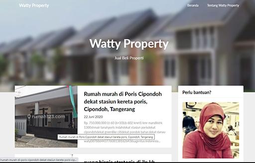 Bazar AB - Watty Property - Jual Beli Properti Ibu Hermawatti | Jual Beli Komunitas AB