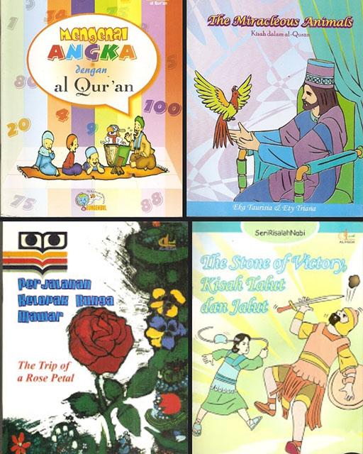 Bazar AB - 4 buku anak + 7 majalah Irfan = 11 buku | Jual Beli Komunitas AB
