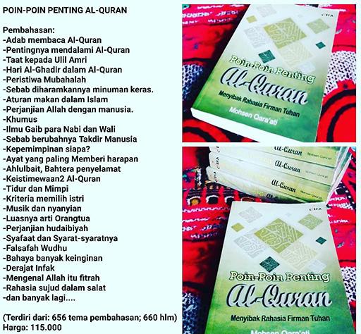 Bazar AB - Poin-Poin Penting Al-Quran | Jual Beli Komunitas AB