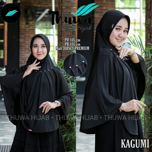 Bazar AB - Hijab - Thuwa Hijab - Kagumi - Hijab Syar'i - Khusus Hitam - Jersy Syar'i - kerudung - jilbab | Jual Beli Komunitas AB